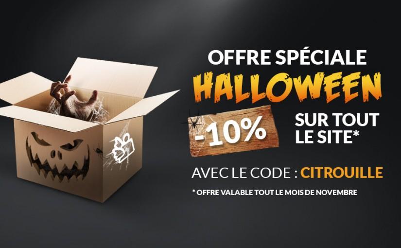 Offre spéciale Halloween à saisir de suite !